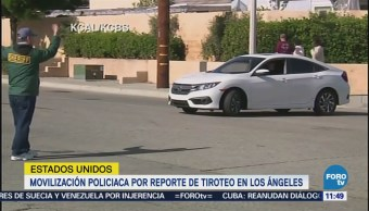 Tiroteo Los Ángeles Detenido Herido