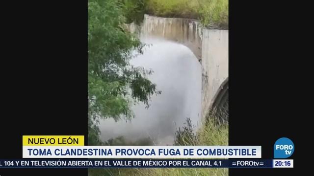 Toma Clandestina Fuga Combustible Nuevo León