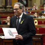 Eligen al independentista Joaquim Torra como presidente regional de Cataluña