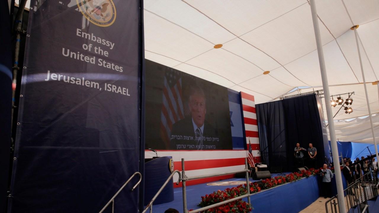 Trump: EU sigue comprometido con acuerdo de paz entre Israel y palestinos