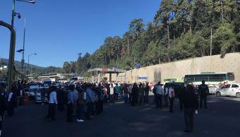 Transportistas del Edomex cumplen más de 6 horas