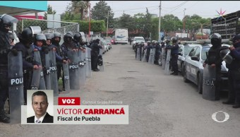 Trasladan Penal Policías Apócrifos San Martín Texmelucan