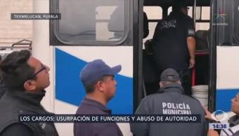 Trasladan Penal Tepexi Rodríguez Policías Detenidos Texmelucan