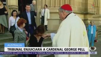 Tribunal determina abrir juicio contra el cardenal australiano George Pell