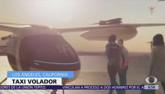 Uber presenta un prototipo de taxi volador