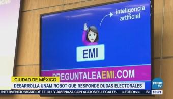 Unam Crea Robot Responde Dudas Elecciones 2018
