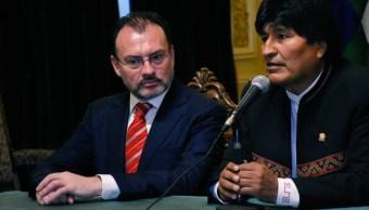 México y Bolivia fortalecen vínculos y cooperación bilateral