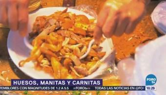 Viernes culinario Huesos manitas y carnitas