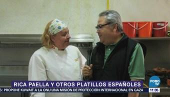 Viernes Culinario Rica paella y otros