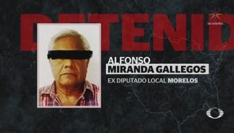 Vinculan a exalcalde de Amacuzac Morelos