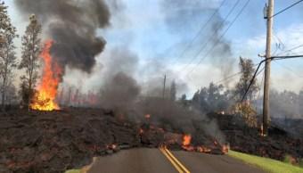 por que no se puede contener la lava del volcán kilauea