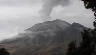el volcan popocatepetl registra 73 exhalaciones dice cenapred