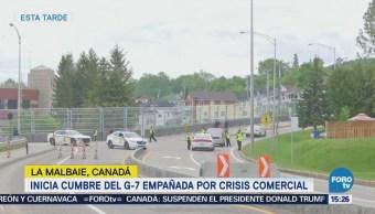 Inicia Cumbre G7 Canadá