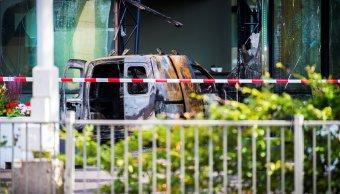 periodico holandes de telegraaf sufre atentado