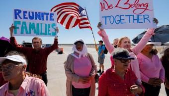 legisladores y activistas protestan frenar separacion familias administracion trump