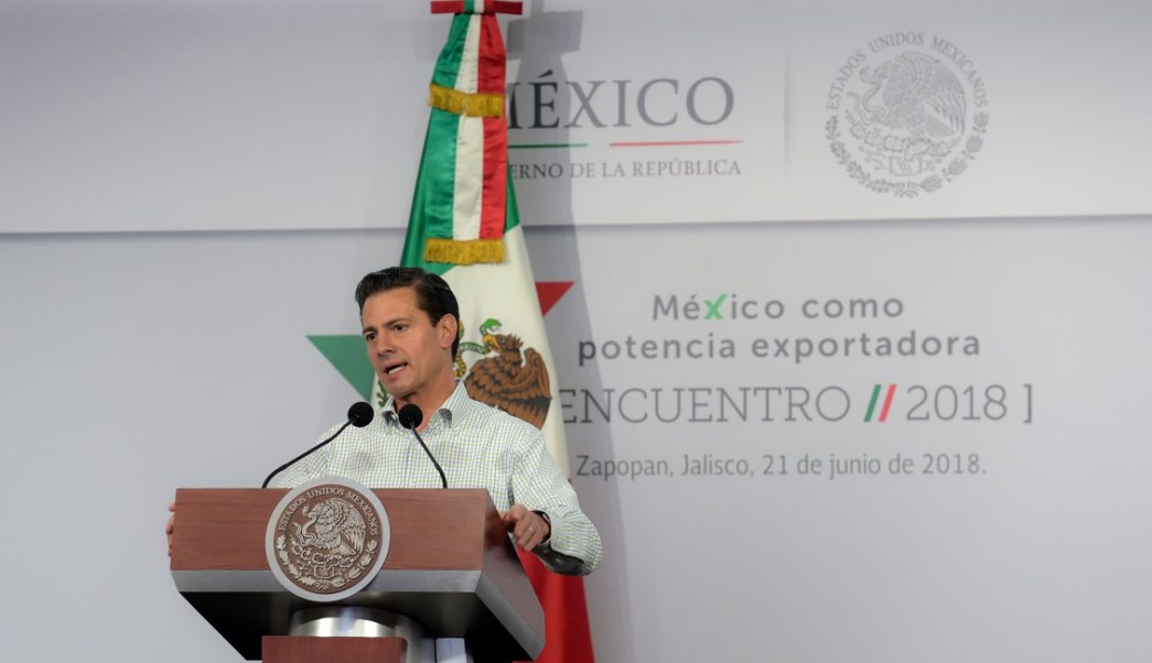 epn el campo mexicano vive su mejor momento