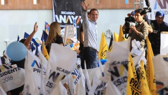 Anaya insiste que la elección será entre el Frente y Morena