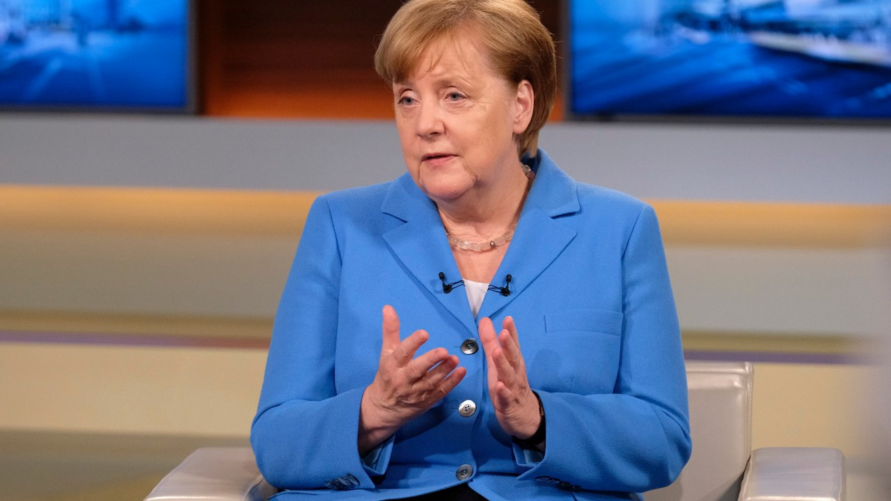 union europea actuara aranceles impuestos trump asegura merkel