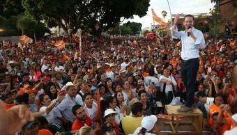 Anaya se compromete a llevar a César Duarte ante la ley