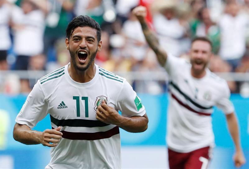 México le gana a Corea del Sur en el Mundial