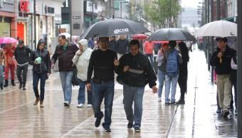 Alerta amarilla en delegaciones CDMX por lluvia