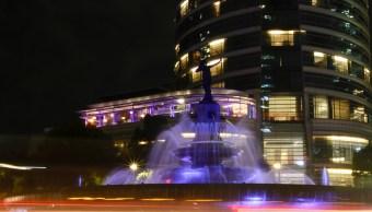 iluminan monumentos morado promover voto este 1 julio