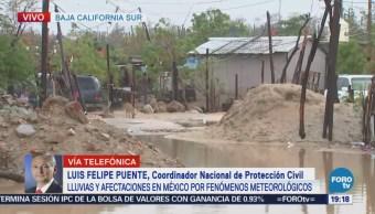 Personas Acuden Refugios Temporales Los Cabos