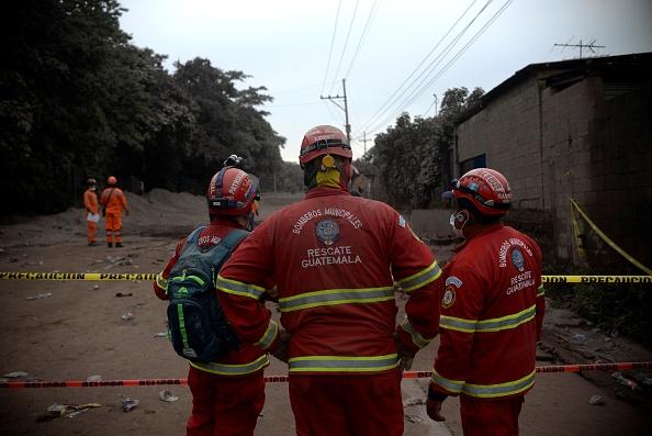 bombero fallecido erupcion guatemala habia dejado carta familia