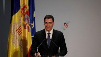 Sánchez resalta encuentro con el rey y mandatario catalán