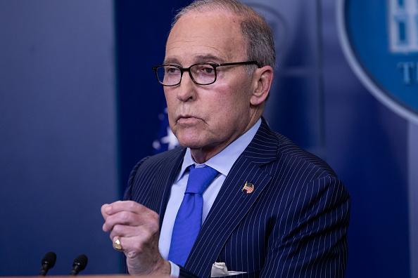 Larry Kudlow, asesor económico de Trump, recibe alta