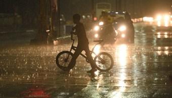 lluvias provocan encharcamientos tlalpan y coyoacan ciudad mexico