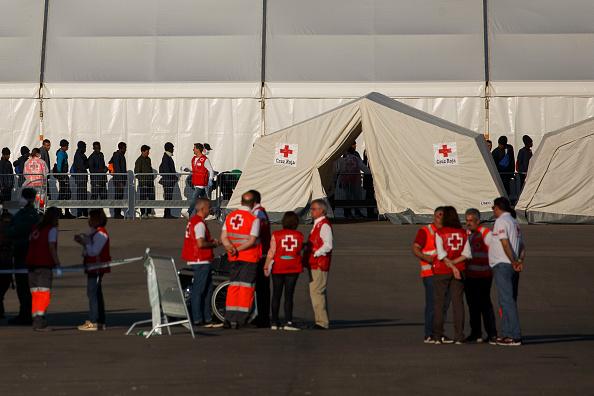 llegan espana migrantes rescatados mediterraneo