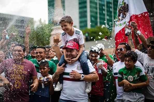 aficionados festejan triunfo selección mexicana restaurantes cdmx