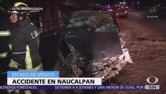 Accidentes vehiculares dejan un muerto y un herido en CDMX