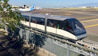 aerotren servicio aicm mantenimiento aeropuerto internacional