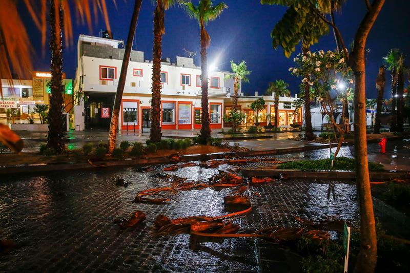Evalúan daños tras paso de 'Bud' en Baja California Sur