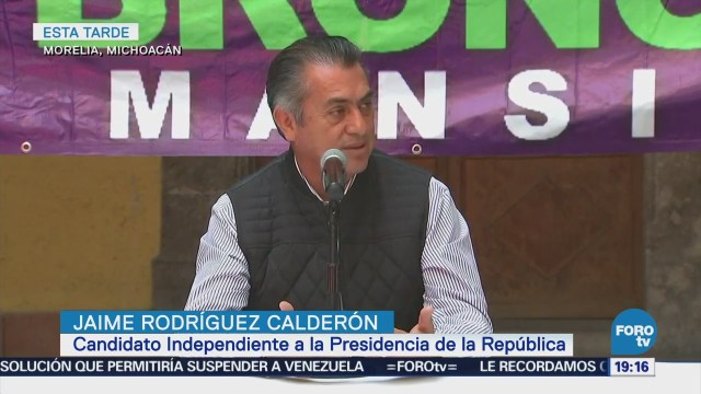 Jaime Rodríguez Calderón Propone Descentralización