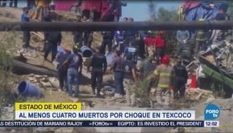 Menos 4 Muertos Choque Texcoco