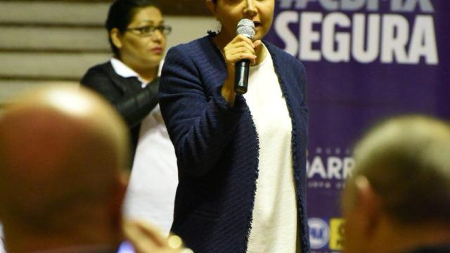 Alejandra Barrales recibe apoyo de dirigencia alterna del PT