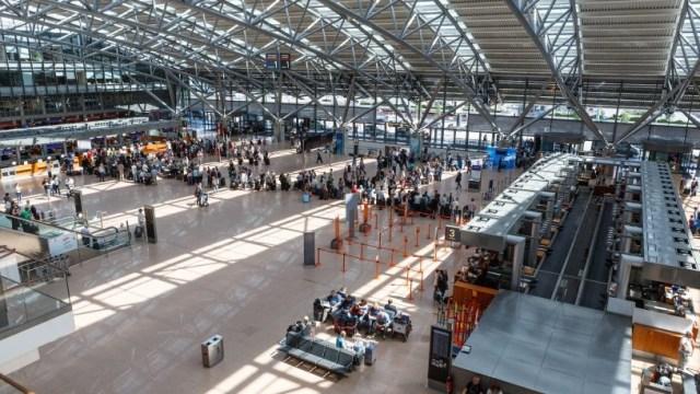 Corte eléctrico paraliza el aeropuerto de Hamburgo