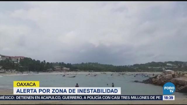 Alerta Zona Inestabilidad Oaxaca Ciclón Tropical