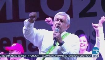 AMLO cierra campaña en Sinaloa, protesta por política migratoria de EU