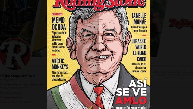 Amlo, Imagen, Rolling, Stone, Revista, Portada,