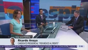 Anaya: Guerra sucia es porque no garantizaré protección a EPN
