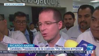 Anaya Pide Candidatos Resistan Clima Violencia