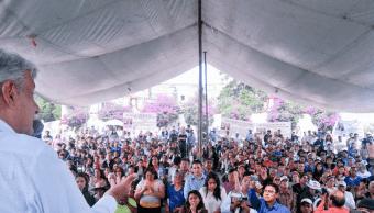 López Obrador se reúne con ciudadanía del Estado de México