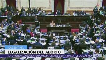 Argentina votará proyecto para legalizar el aborto