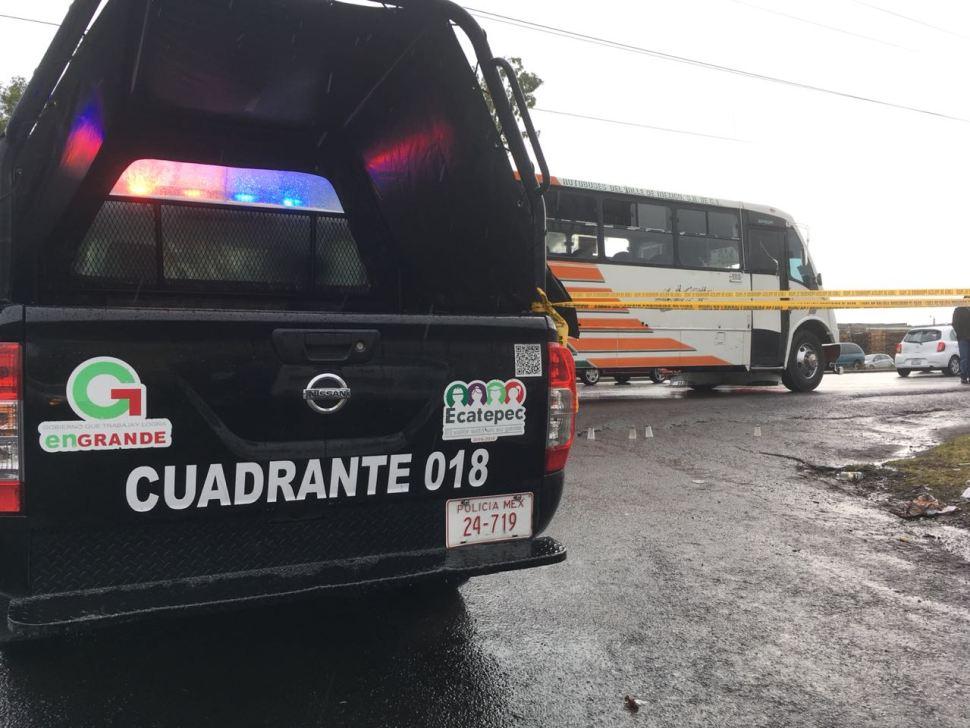 Asaltantes matan a joven en la Texcoco-Lechería