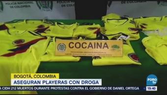 Aseguran Playeras Selección Colombia Falsas Droga