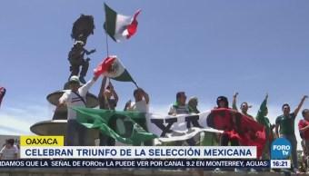Celebraron Goles México Mundial Rusia Estados